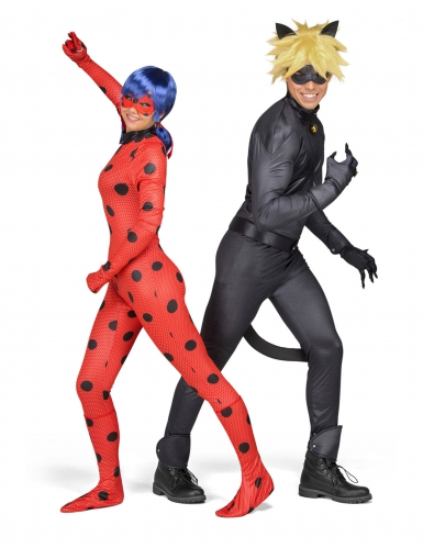 Lady Bug Miraculous™ Kostüm für Erwachsene-2