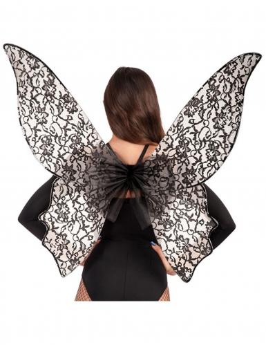 Grosse Schmetterlingsflügel schwarz