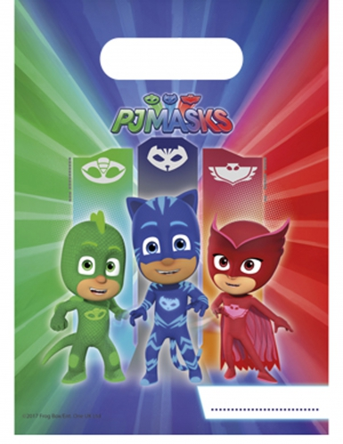 6 Geschenktüten PJ Masks™