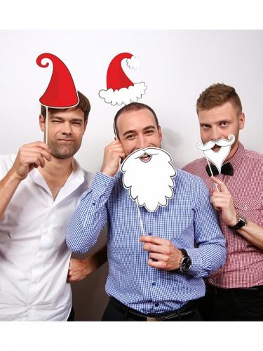 Fotoset Weihnachtsmann 4-teilig-1