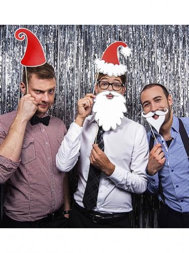 Fotoset Weihnachtsmann 4-teilig-2
