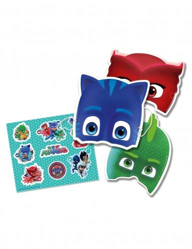PJ Masks™ Set mit Masken und Sticker