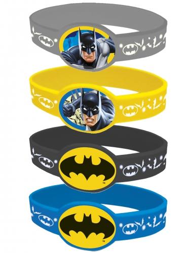 4 elastische Armbänder Batman™