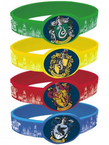 4 elastische Armbänder Harry Potter™
