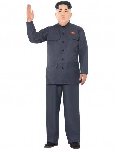 Nordkoreanischer Diktator Kostüm für Erwachsene-1