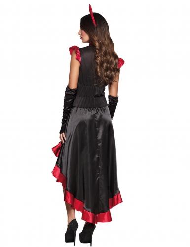 Halloween Teufelinnen-Kostüm für Damen-1
