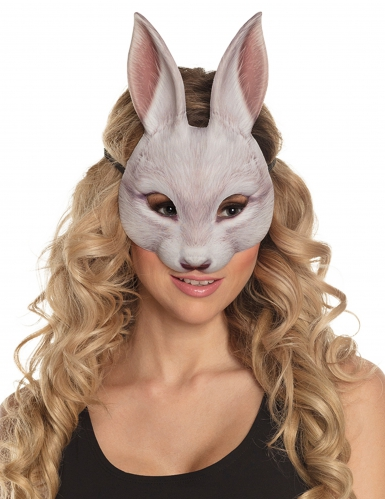 Kaninchen Halbmaske