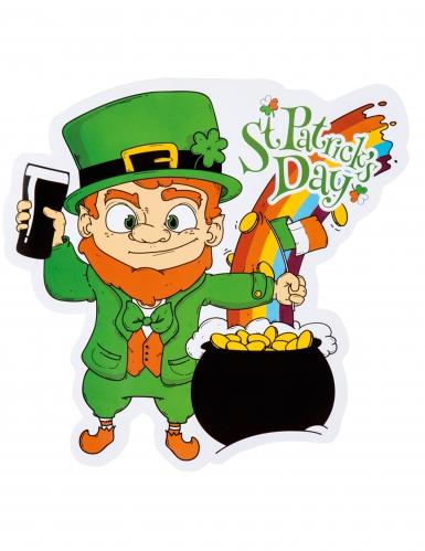 Bunter Deko-Kessel St. Patrick's Day
