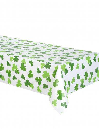 St. Patrick's Day Tischdecke Kleeblätter 137x259 cm