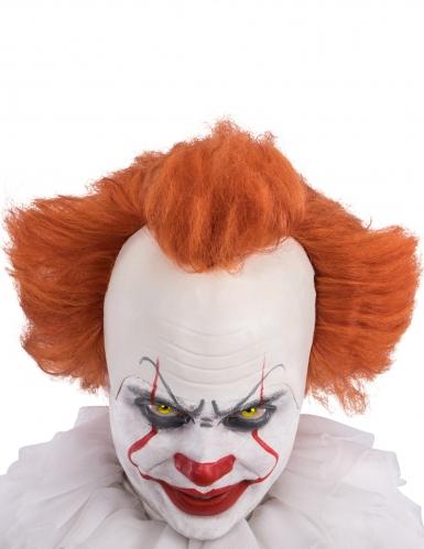 Horrorclown Perücke mit rotem Haar für Erwachsene