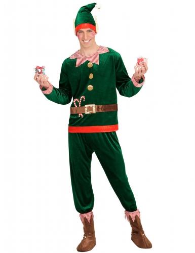 Kostüm Weihnachtswichtel für Herren