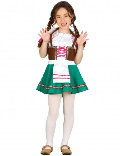 Dirndl Oktoberfest Kostüm für Mädchen