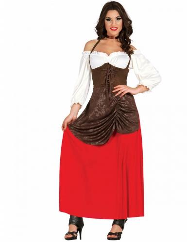 Wirtin Kostüm für Damen