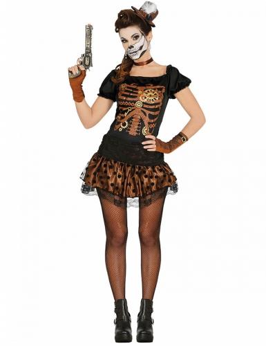 steampunk skelett kost m f r damen kost me f r erwachsene und g nstige faschingskost me vegaoo. Black Bedroom Furniture Sets. Home Design Ideas