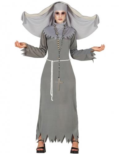 Offizieller Lieferant Treffen Promo-Codes Nonnenkostüm für Damen Halloween