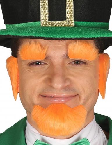 St. Patrick's Day Accessoire-Set für Erwachsene orange
