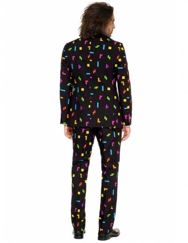 Mr. Tetris™ Herren-Anzug Opposuits™ schwarz-bunt-1