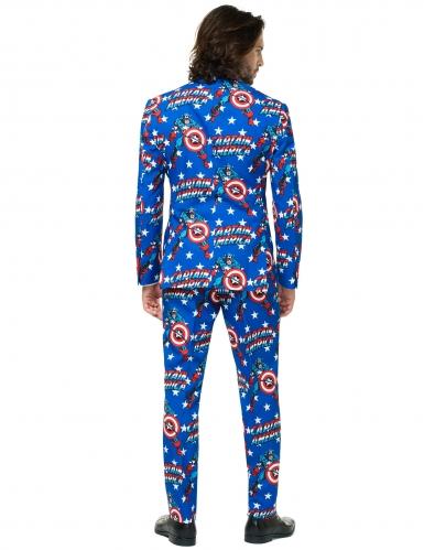 Mr. Captain America™ Opposuits-Kostüm für Herren Marvel bunt-1