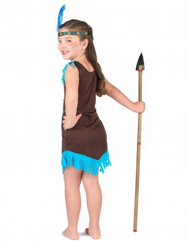 Indianer Kostüm braun für Mädchen-2