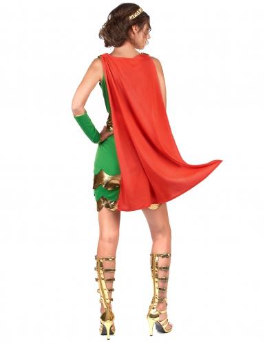 Römerinnen Kostüm für Damen grün-2
