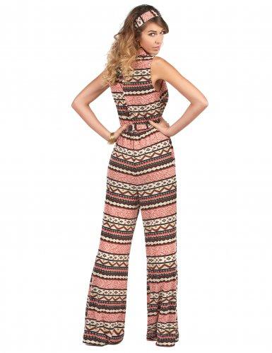 70er Jahre Kostüm Overall für Damen-2