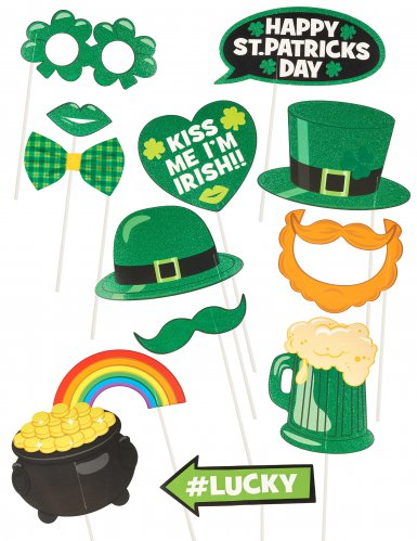 St. Patrick's Day Photobooth Set
