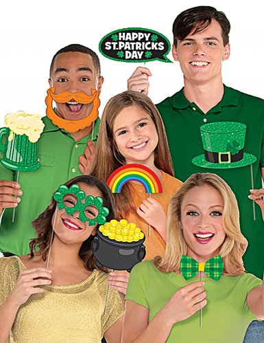 St. Patrick's Day Photobooth Set-1