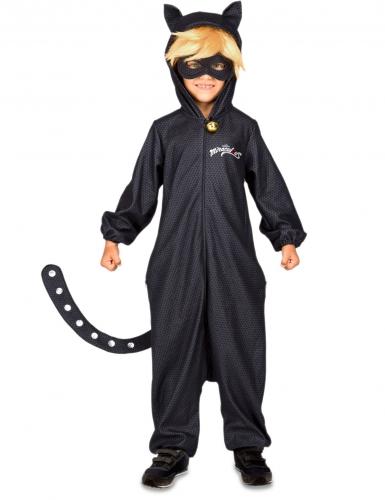 Kinderkostüm Miraculous Cat Noir™ Lizenzartikel schwarz