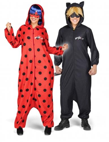 Ladybug™ Kostüm Einteiler mit Perücke für Erwachsene-1