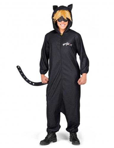 Miraculous Cat Noir™ Lizenzkostüm für Erwachsene schwarz