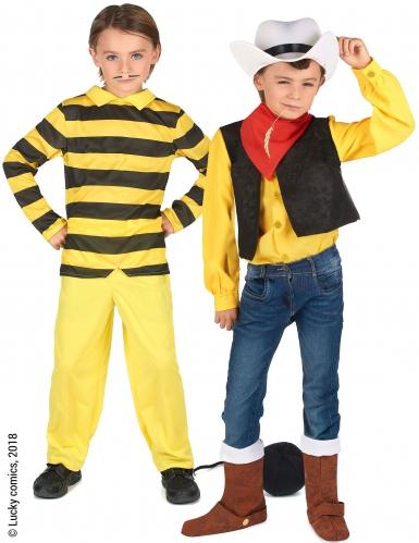 Paarkostüm Lucky Luke™ und Dalton für Kinder
