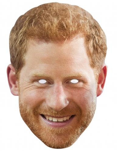 Pappmaske Prinz Harry
