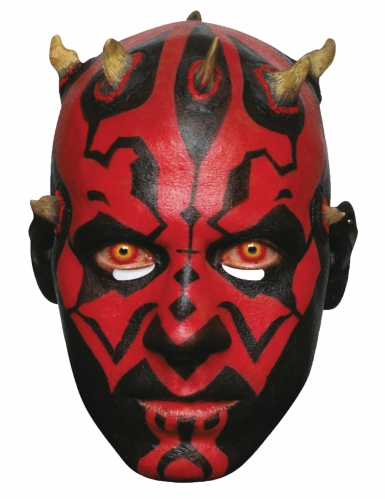 Star Wars™ Pappmaske Darth Maul™ Lizenzprodukt hautfarben