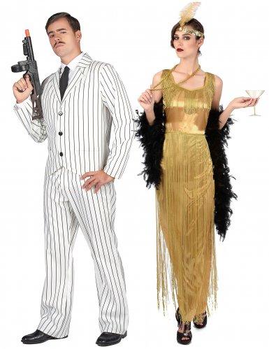 Paarkostüm Gangster und Charleston- Kostüm