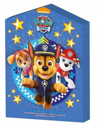 Kinder Weihnachtskalender.Paw Patrol Weihnachtskalender Fur Kinder Lizenz Bunt 100g
