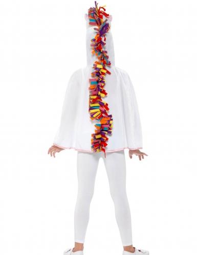 Einhorn-Umhang für Kinder Kostümzubehör weiss-bunt-1