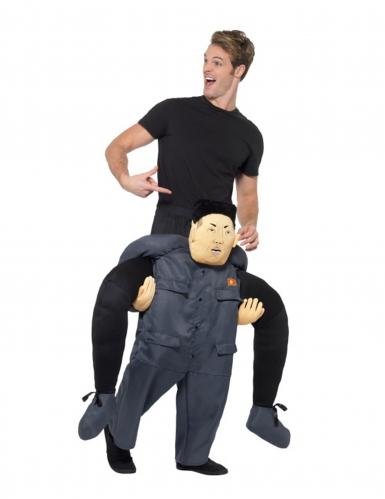 Carry Me Kostüm Nordkoreanischer Diktator für Erwachsene
