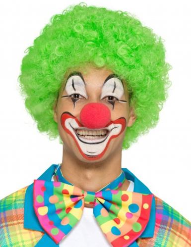 Clown-Fliege Kostümzubehör für Erwachsene bunt