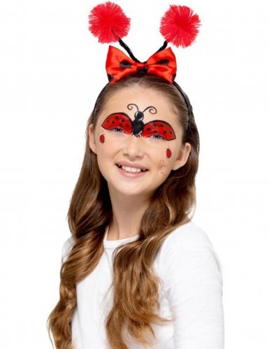 Make-up-Kit für Marienkäfer und Biene Partyzubehör