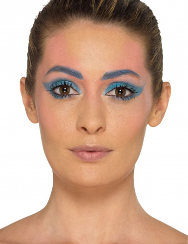 Meerjungfrau Make up Set mit Schablone-1