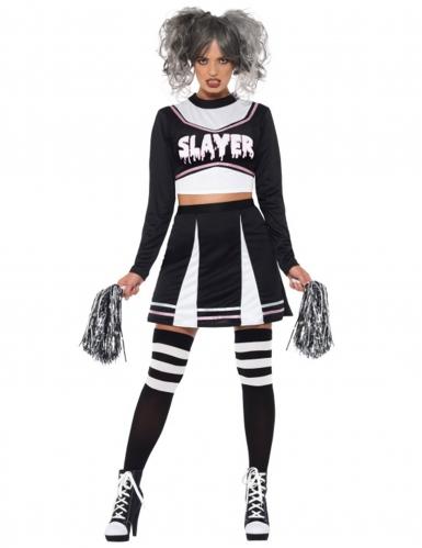 Professionel Detaillierung guter Verkauf Gothic Cheerleader Kostüm für Damen Halloween