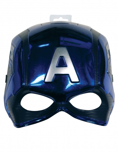 Halbmaske Captain America™ für Kinder-1