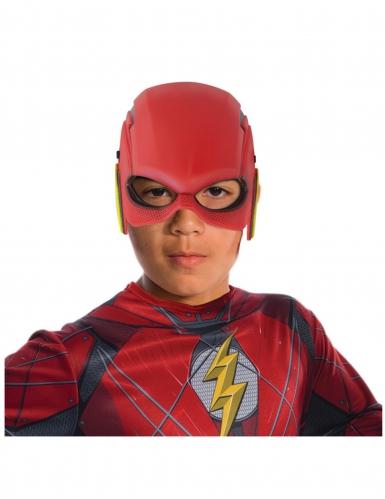 Flash™ Halbmaske für Kinder rot