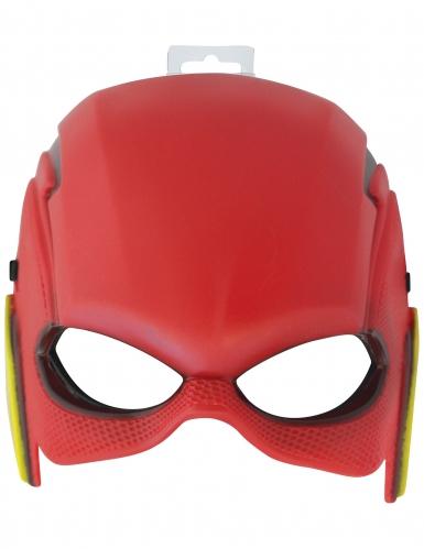 Flash™ Halbmaske für Kinder rot-1