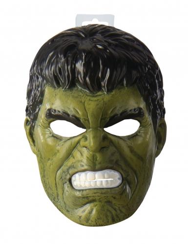 Hulk™ Maske Lizenzartikel für Kinder grün-schwarz-1