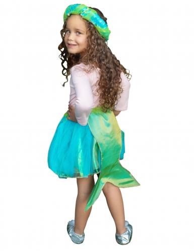 Süsses Meerjungfrauen Kostümzubehör für Mädchen türkis-1