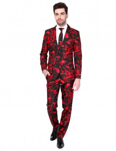 Mr. Black Blood Herrenanzug Suitmeister™ Halloween