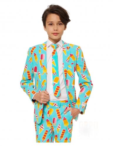 Mr. Iceman™-Opposuits Anzug für Kinder türkis-gelb-1