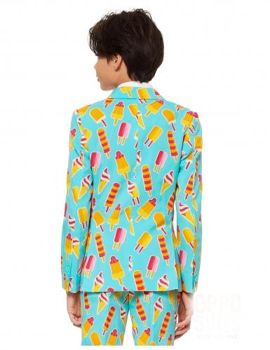 Mr. Iceman™-Opposuits Anzug für Kinder türkis-gelb-2