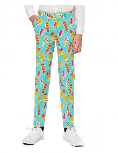 Mr. Iceman™-Opposuits Anzug für Kinder türkis-gelb-3